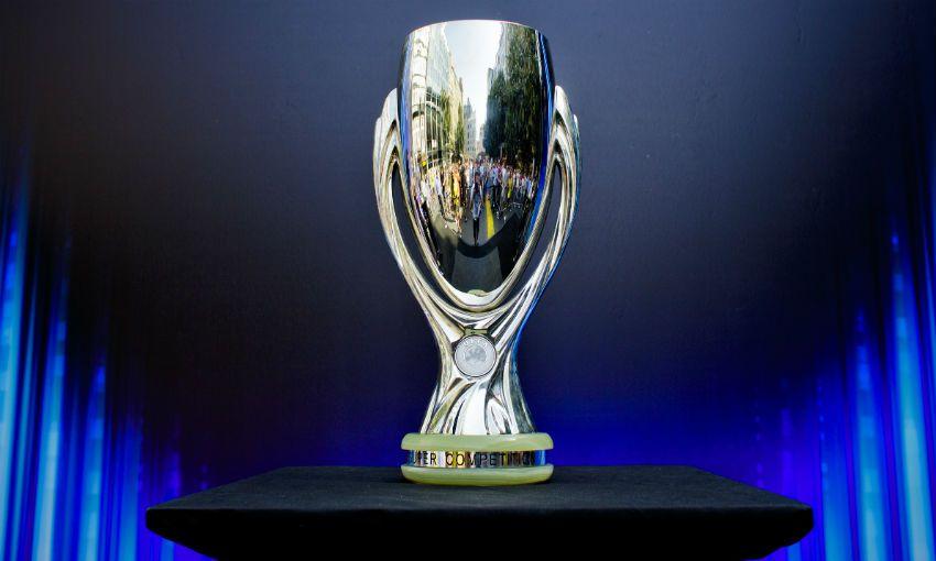 UEFA Super Cup trophy