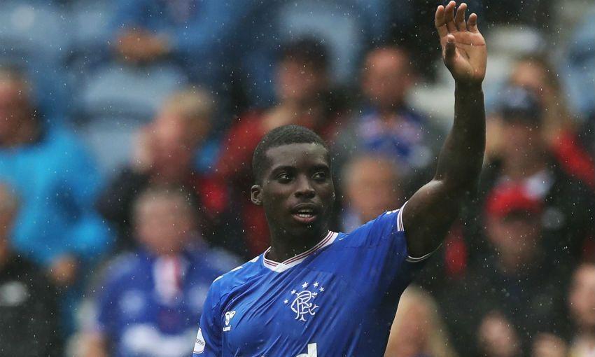 Sheyi Ojo of Rangers FC
