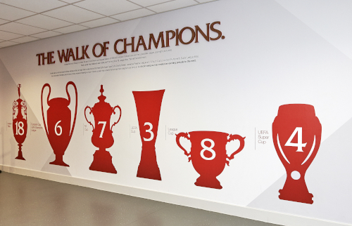 Melwood Champions Wall gets UEFA Super Cup upgrade