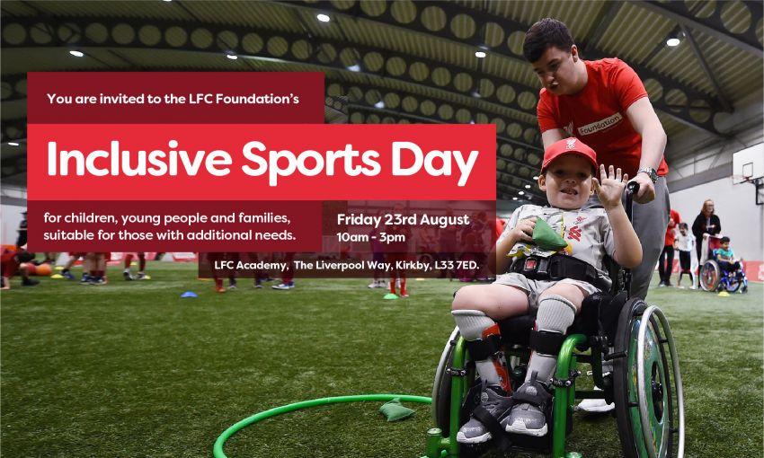 LFC Foundation Inclusive Event