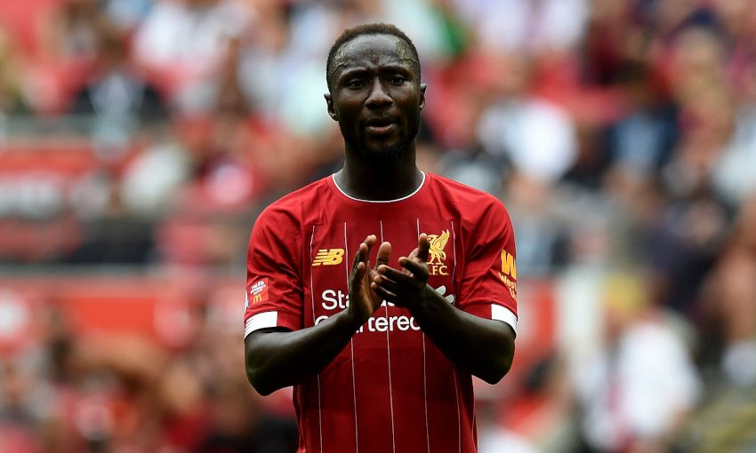 Liverpool midfielder Naby Keita