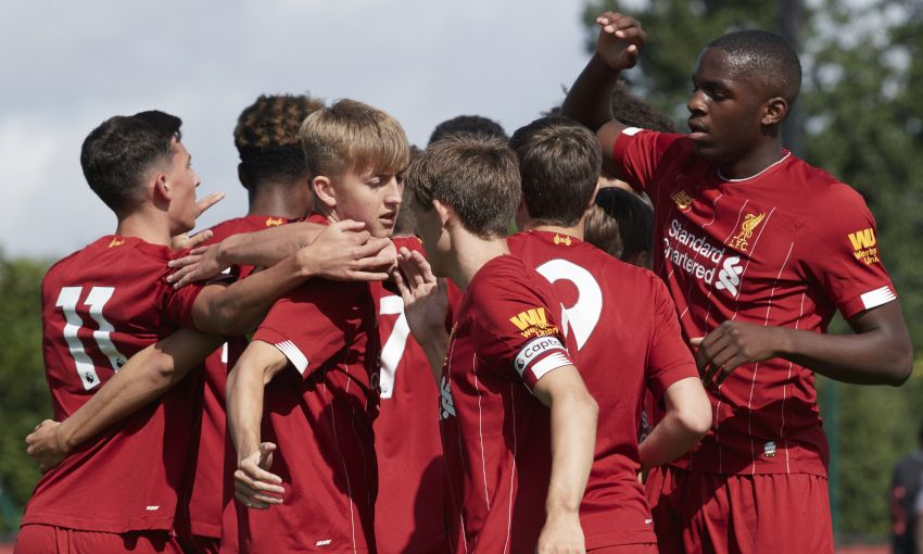 Liverpool U18s v Stoke City - August 17, 2019