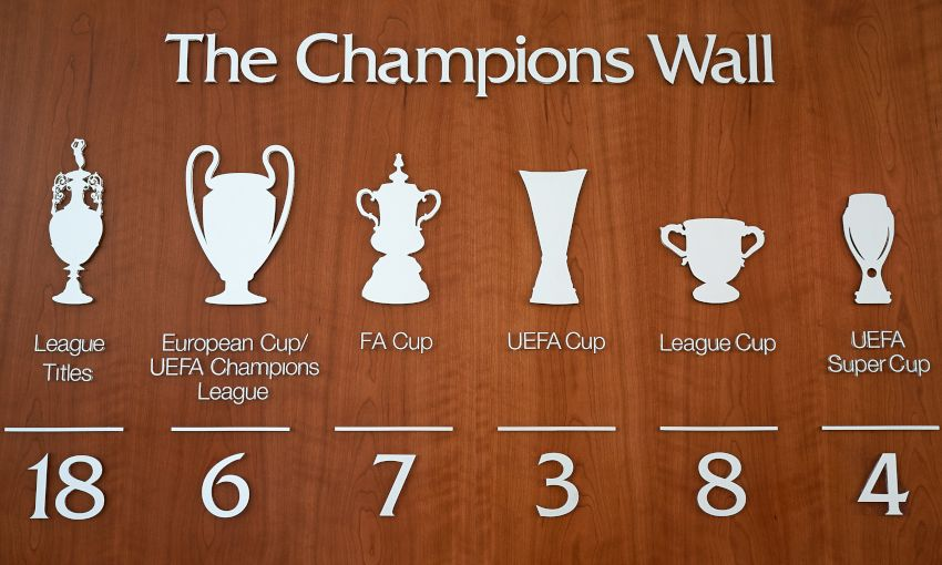Champions Walls updated with fourth UEFA Super Cup