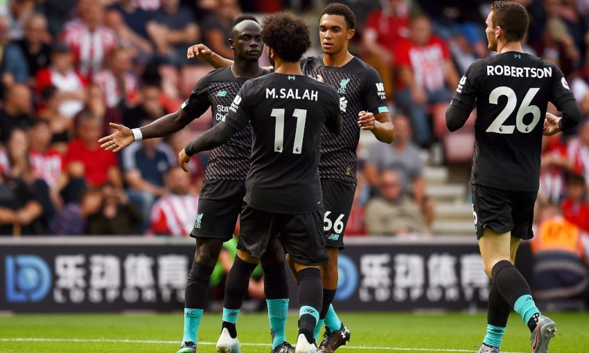 Report: Mane and Firmino strike to clinch victory at St Mary's