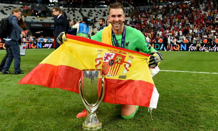 Adrian on dedicating Super Cup to Alisson, sleeping with the trophy and Rocky Balboa