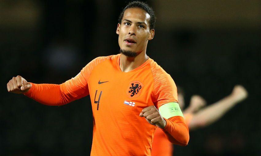 Virgil van Dijk of Liverpool and the Netherlands