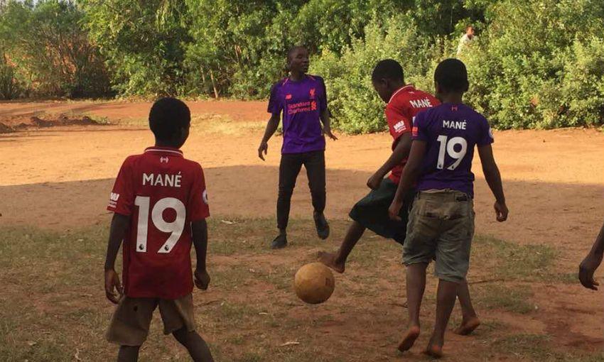 Sadio Mane Malawi orphans