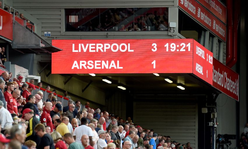 Liverpool v Arsenal - August 24, 2019