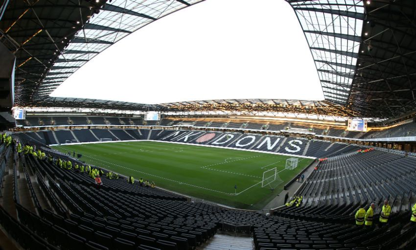 Milton Keynes Dons' stadium:mk