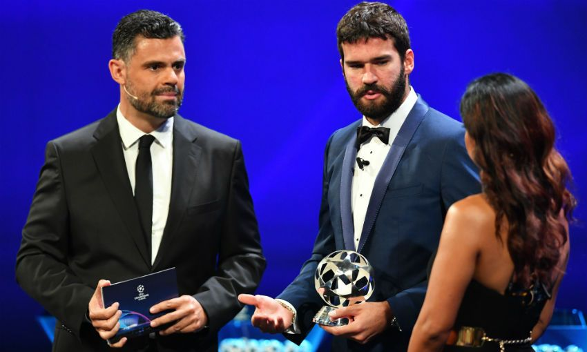 Alisson Becker Champions League goalkeeper of the season