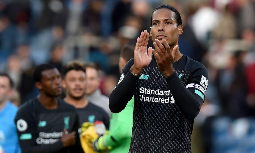 Virgil van Dijk delighted with winning end to special week
