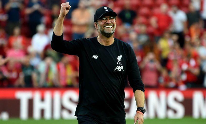 Jurgen Klopp Liverpool Arsenal Anfield