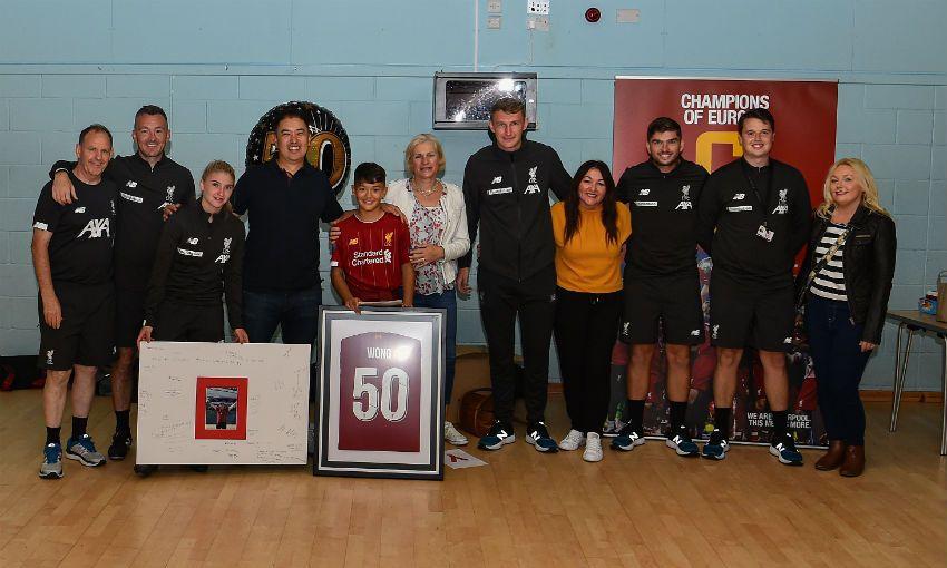 Kirkby kids attend LFC Foundation summer camp