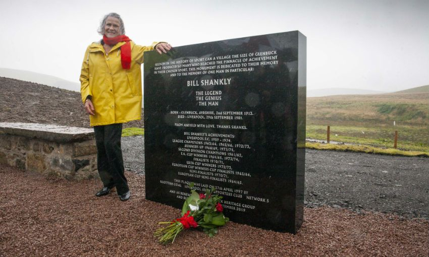Bill Shankly Glenbuck memorial