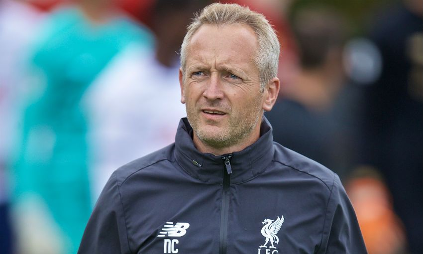 Neil Critchley Liverpool U23s