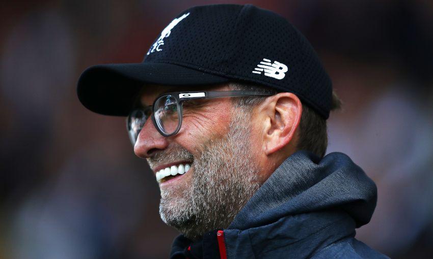 Jürgen Klopp wins Premier League Manager of the Month award