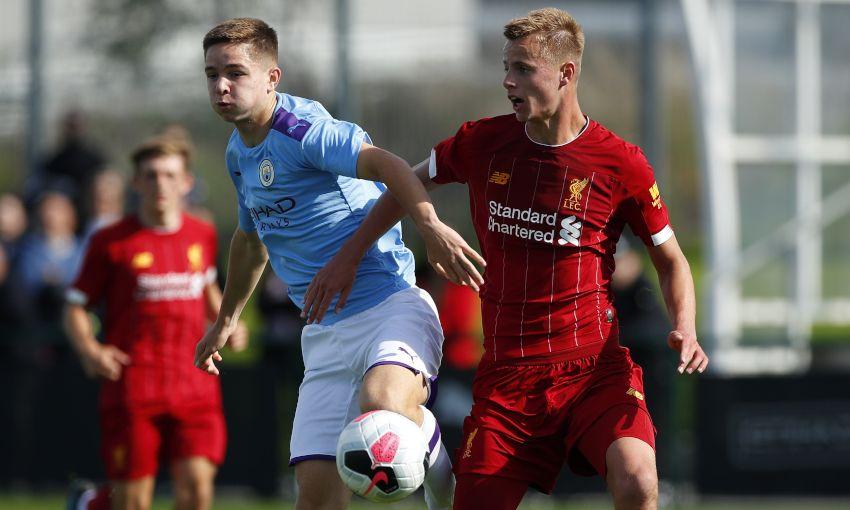 Liverpool U18s v Manchester City U18s
