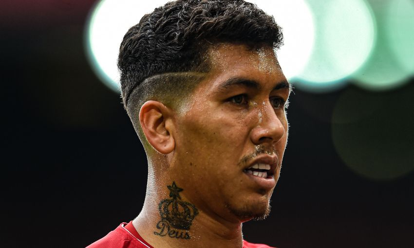 Virgil van Dijk: I'm very happy Firmino is on my team!