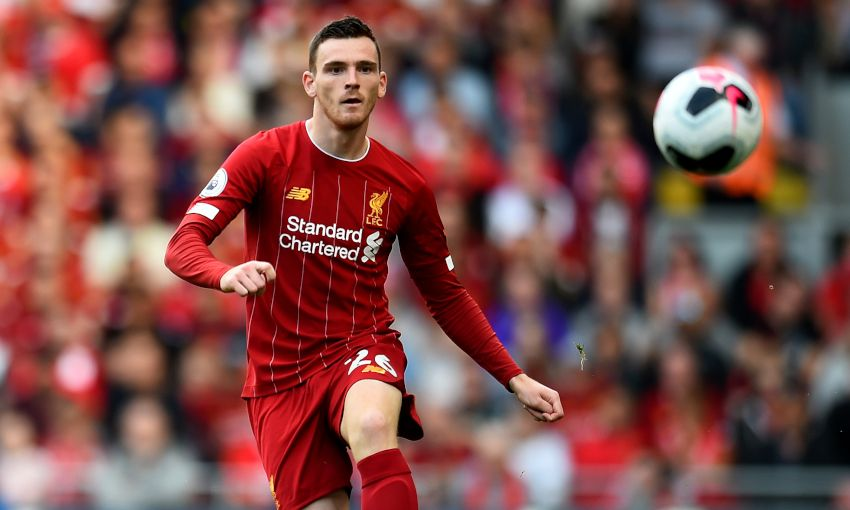 Andy Robertson: We have to keep firing for hectic fixture run