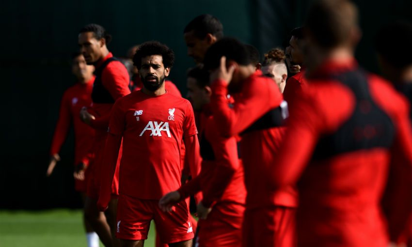 Liverpool FC training session, Melwood, September 16, 2019