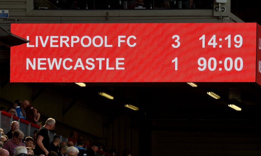 Liverpool v Newcastle - September 14, 2019