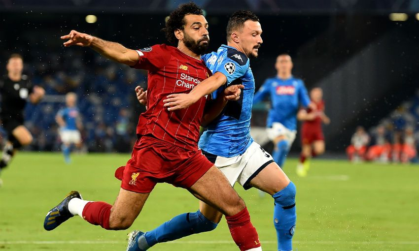 Match report: Reds open Champions League campaign with Napoli defeat