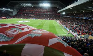 Anfield, Liverpool v Red Star Belgrade, Champions League