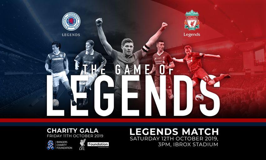 Rangers Legends v Liverpool FC Legends