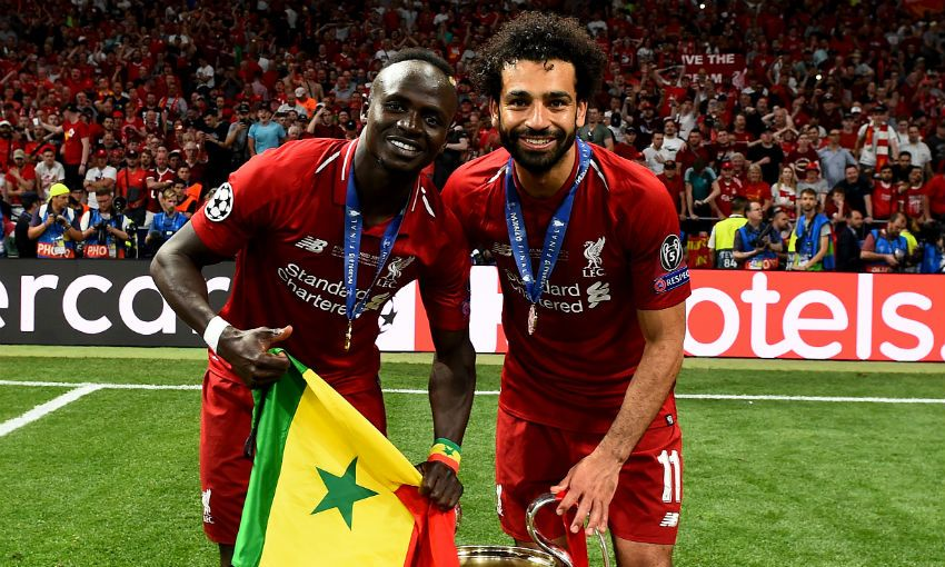 'Mohamed Salah and Sadio Mane are inspiring generations in Africa'
