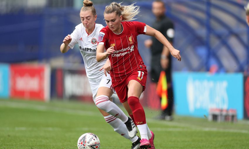 Liverpool FC Women v Sheffield United Women