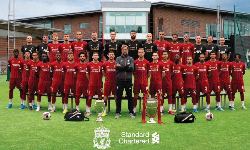 Revealed Liverpool Fc S 2019 20 Official Squad Photograph Liverpool Fc