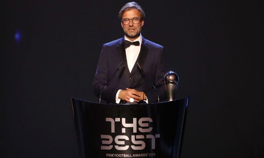 Jürgen Klopp Best FIFA awards
