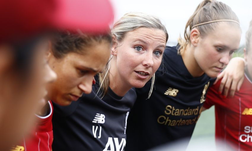 Behind the Badge: From tying laces to the top job - Vicky Jepson's decade at LFC