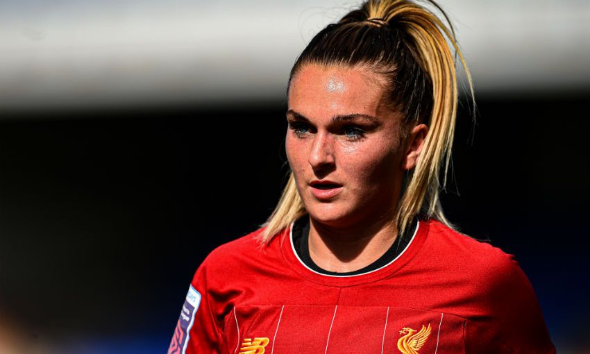 Melissa Lawley Liverpool FC Women