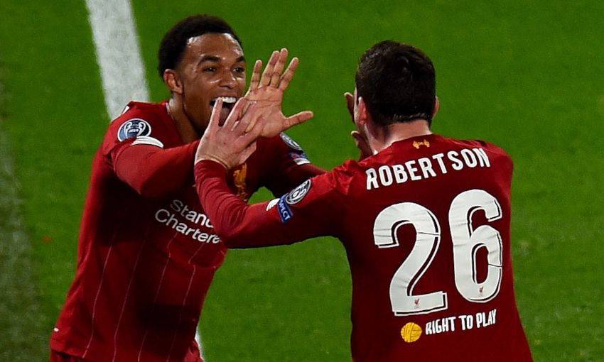 Liverpool v Salzburg at Anfield