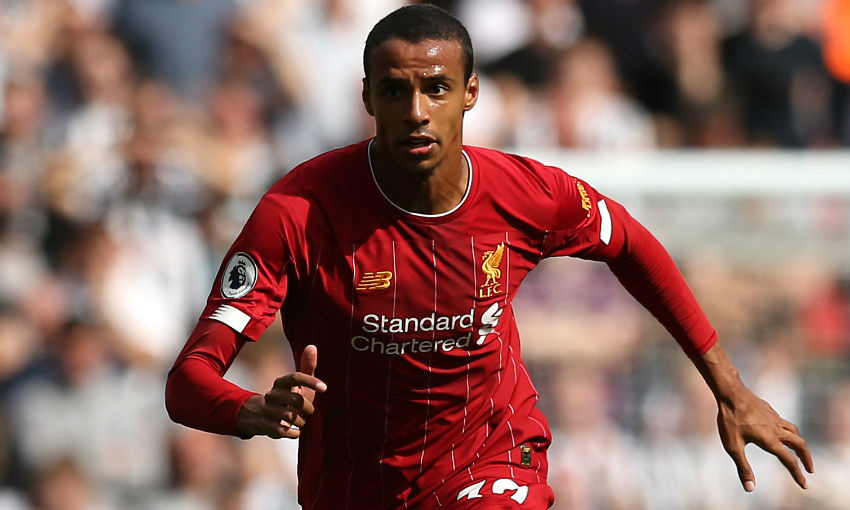 Joel Matip Liverpool FC Newcastle United