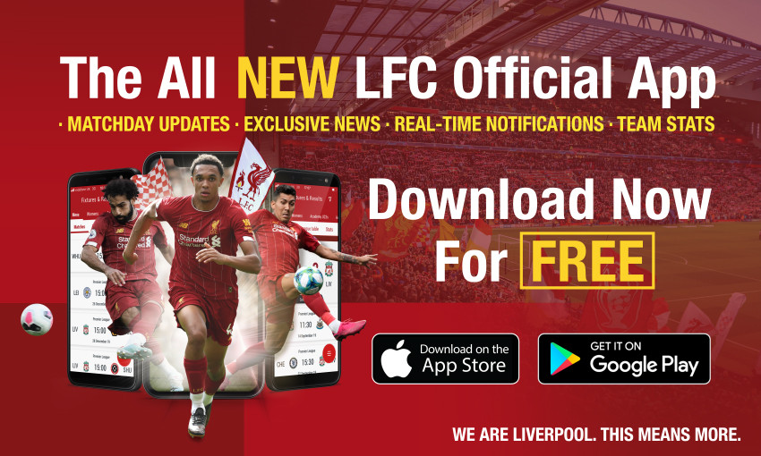 New official LFC app