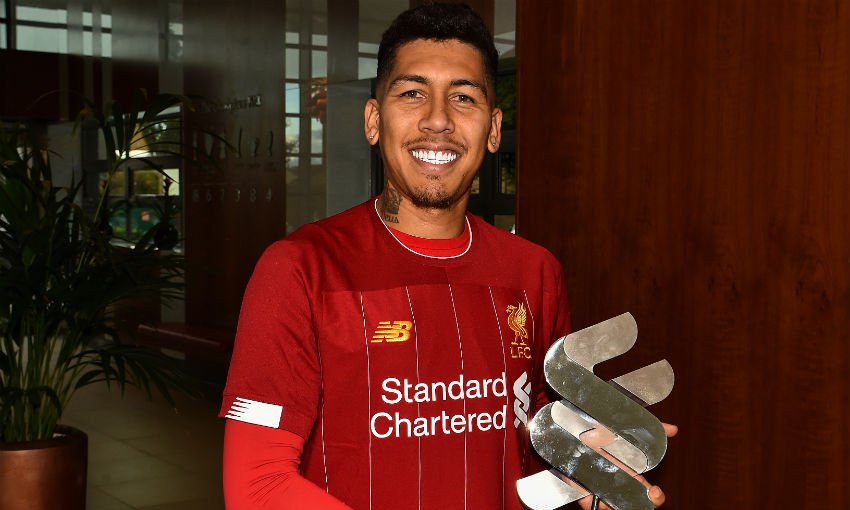 Roberto Firmino named Liverpool Player of the Month for September