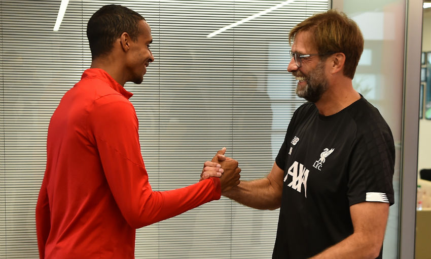Joel Matip: Liverpool defender signs new deal until summer 2024