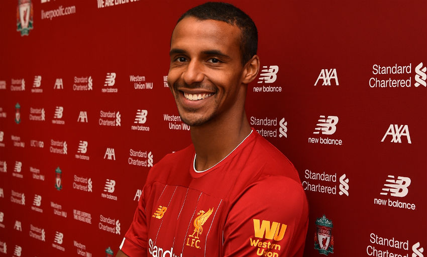 Joel Matip agrees new Liverpool contract