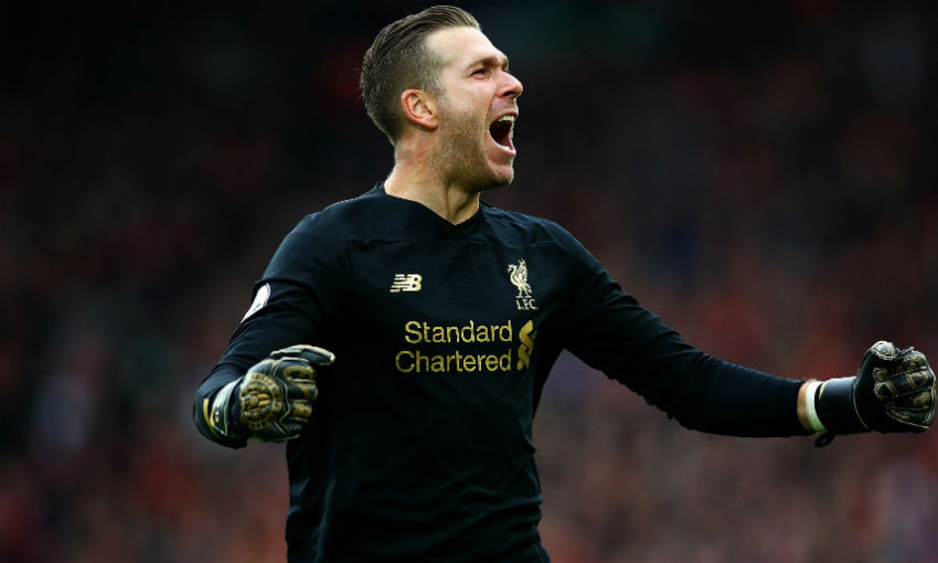 Adrian of Liverpool FC