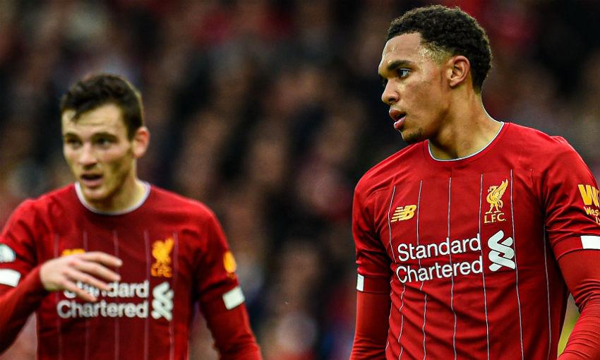 'World class' - Gerrard hails Alexander-Arnold and Robertson
