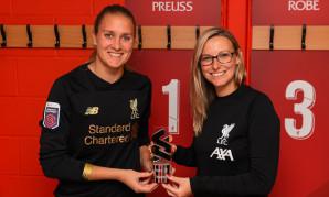 Anke Preuss wins LFC Women Player of the Month