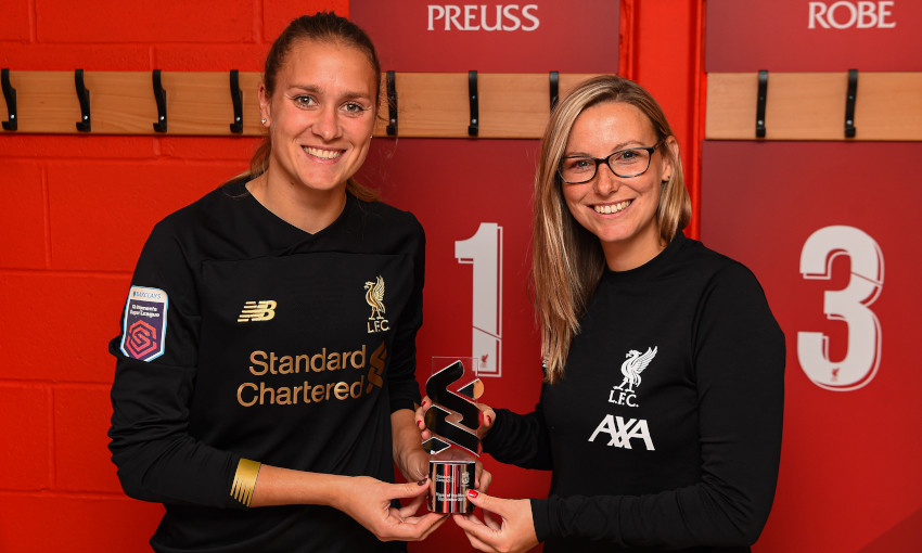 Anke Preuss wins LFC Women Player of the Month