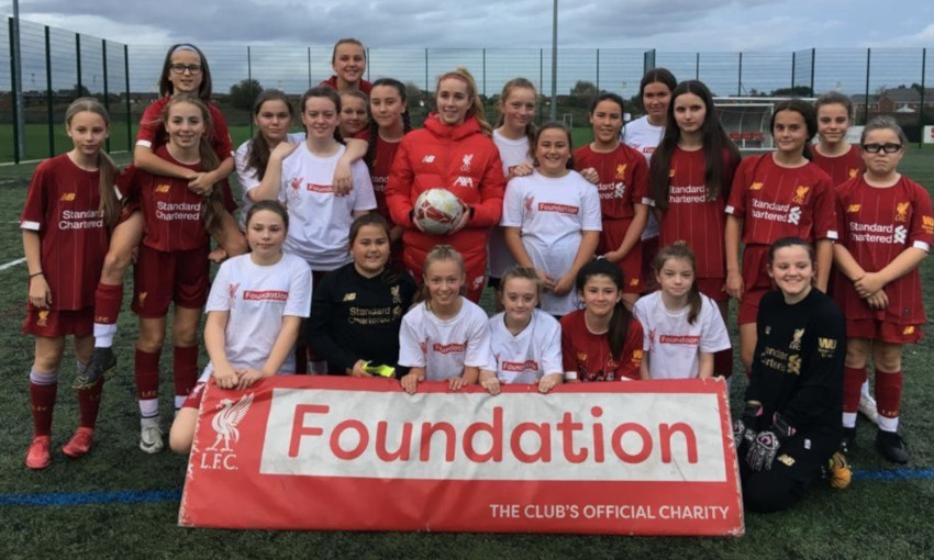 LFC Foundation hosts GirlForce event