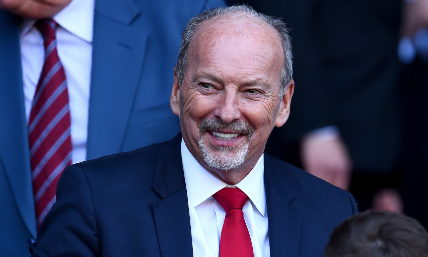 Liverpool FC CEO Peter Moore