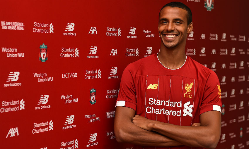 Joel Matip signs new long-term contract with Liverpool FC