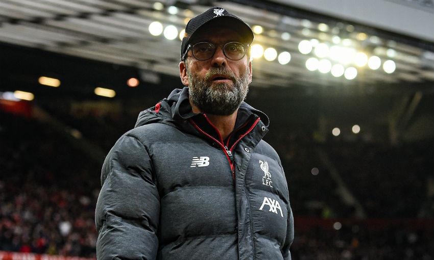 Jürgen Klopp at Old Trafford