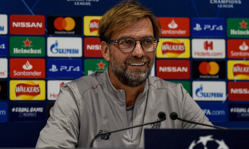 6.30pm BST: Watch Liverpool's pre-Genk press conference live