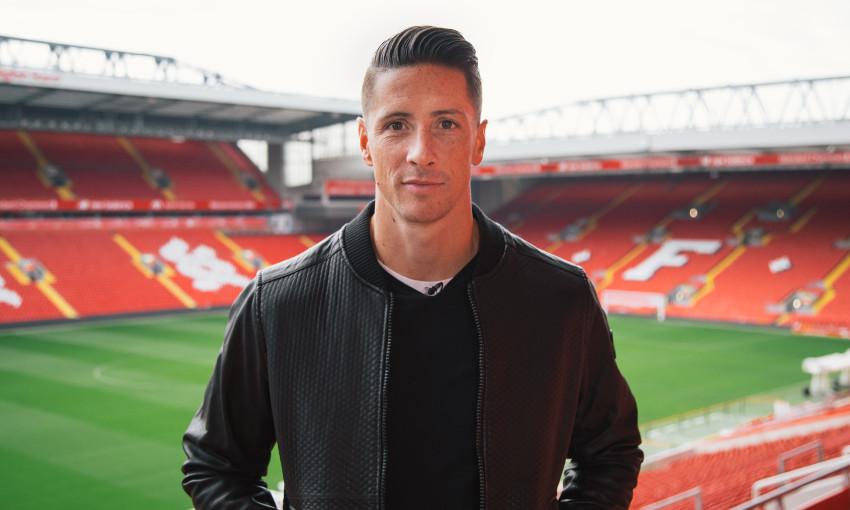 Fernando Torres at Anfield